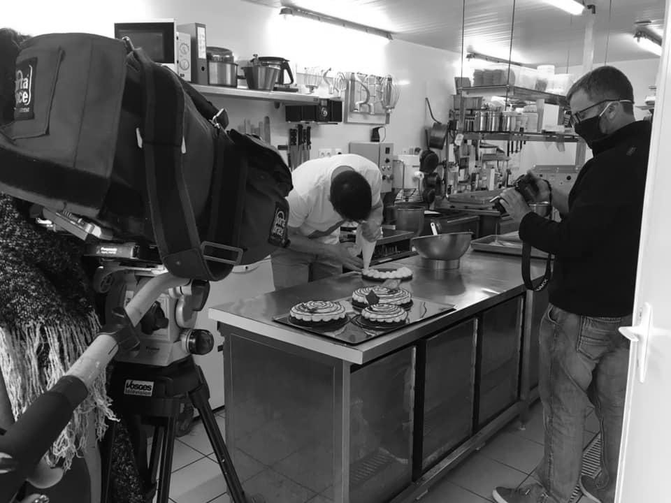 tournage reportage patisserie