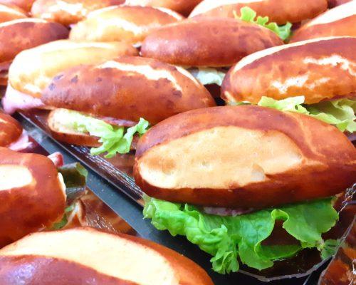 pain sandwich bretzel aperitif