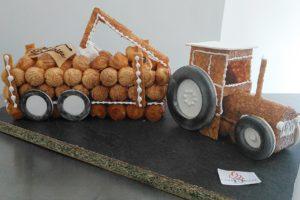 Le tracteur  120 choux